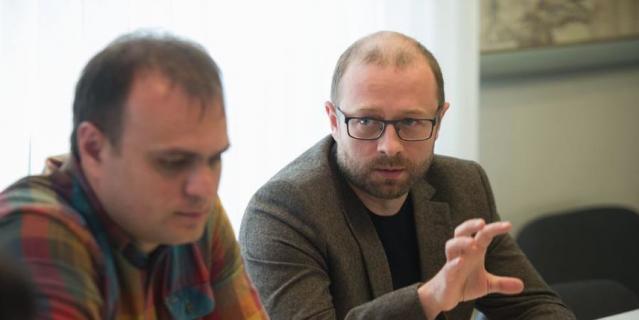 Круглый стол Metro. Андрей Лошкарёв и Алексей Курманов.