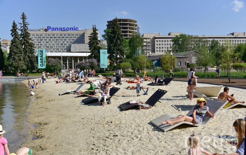 Пик жары в Москве придётся на субботу. Фото Василий Кузьмичёнок