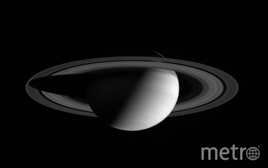 Сатурн. Фото NASA