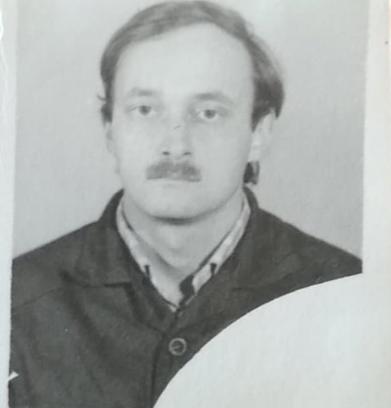 """Алексей Ананенко, фото на пропуск в Чернобыле, после взрыва. Фото из личного архива семьи Ананенко, """"Metro"""""""