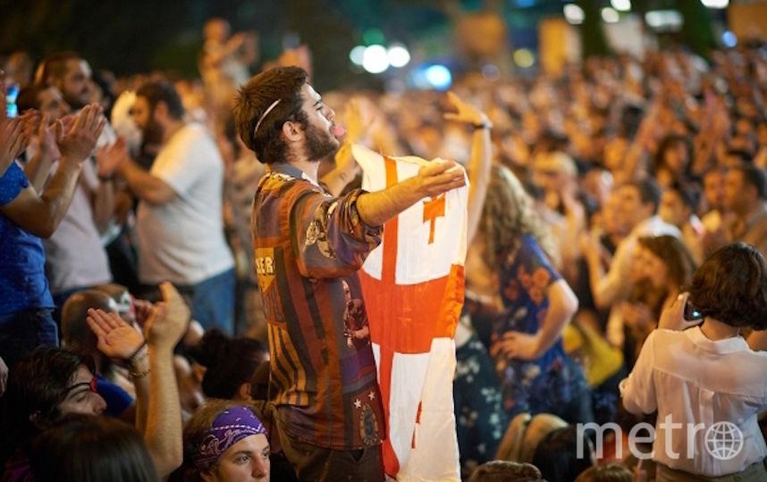 Волнения в Грузии. Фото РИА Новости