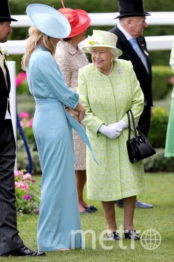 Королева Елизавета II. Королевские скачки в Аскоте - 2019. Фото Getty