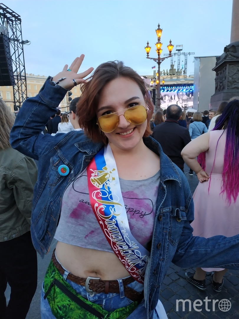 "Анастасия Гамызина, выпускница. Фото Наталья Сидоровская, ""Metro"""
