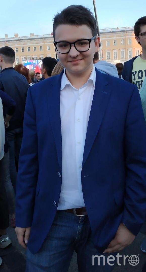 """Григорий Витенберг, выпускник. Фото Наталья Сидоровская, """"Metro"""""""