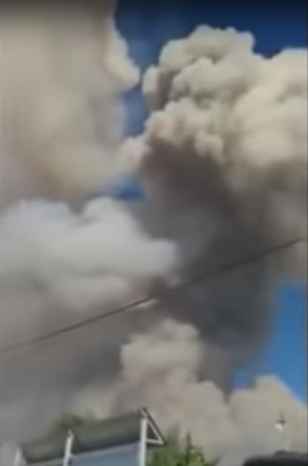 ЧП в Арыси. Фото Скриншот/ Аскар Шайгумаров 2, Скриншот Youtube