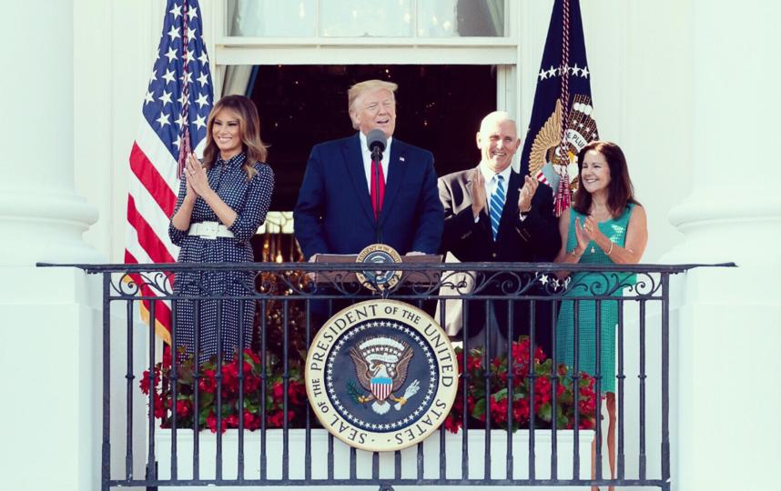 Пикник у Белого дома.