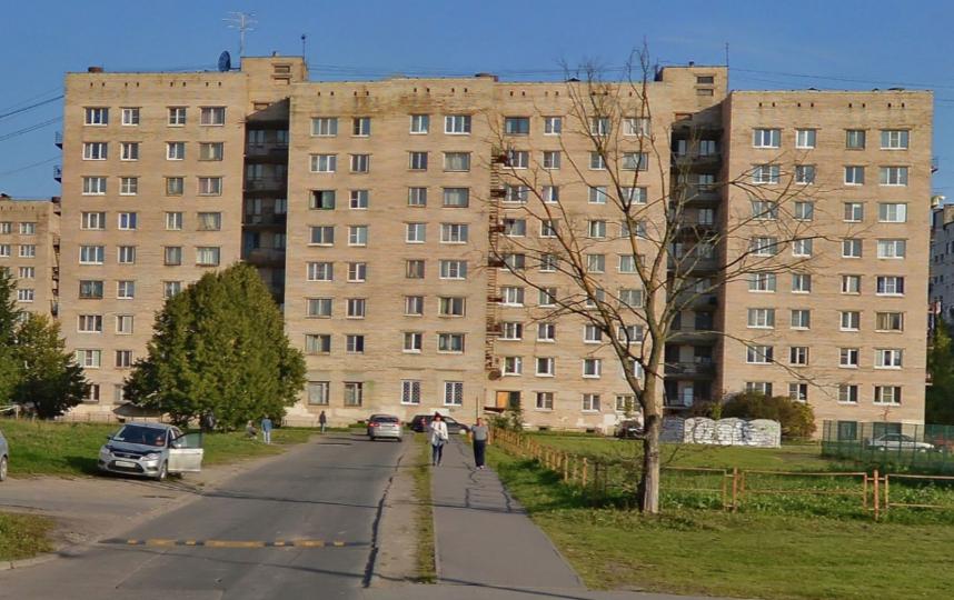 Инцидент произошел в Колпинском районе Петербурга. Фото Яндекс.Панорамы