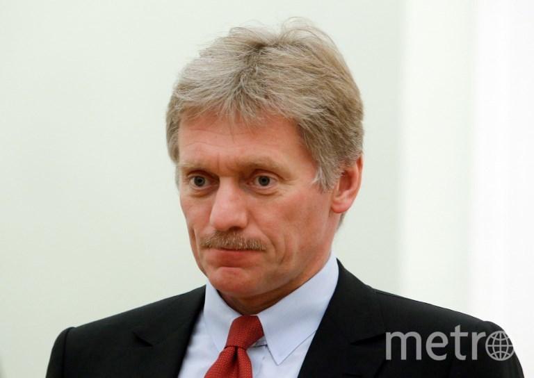 Пресс-секретарь президента Дмитрий Песков. Фото AFP