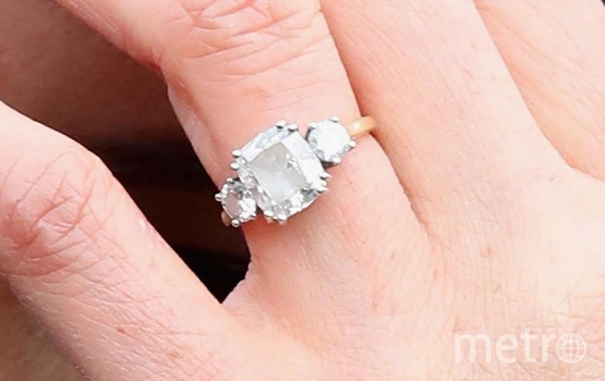 Помолвочное кольцо Меган Маркл. Фото Getty