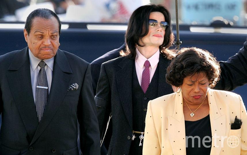Майкл Джексон с родителями. Фото Getty