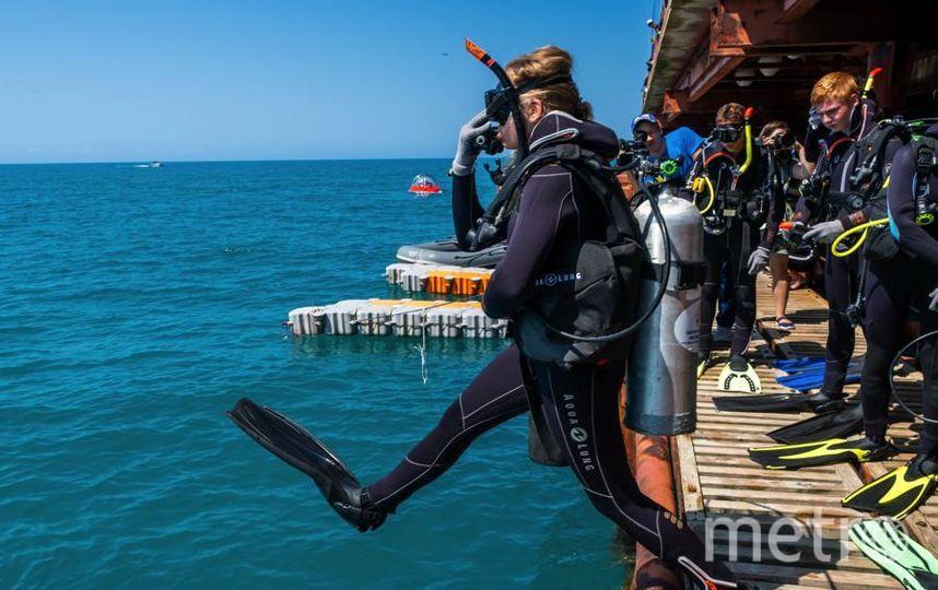 """За три недели в лагере «Орлёнок» океанавты становятся почти профессиональными водолазами. Фото Алена Бобрович, """"Metro"""""""