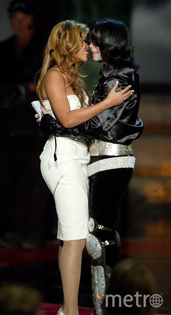 Бейонсе и Джексон в 2003 году. Фото Getty