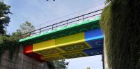 В Германии построили лего-мост