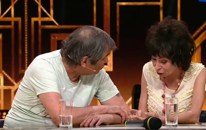 """Марина Хлебникова на программе """"Привет, Андрей!"""". Фото Все - скриншот YouTube"""