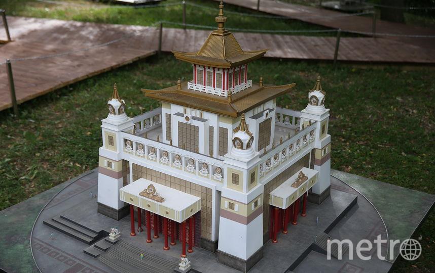 В Царицыно открылся уникальный парк миниатюр. Фото Василий Кузьмичёнок