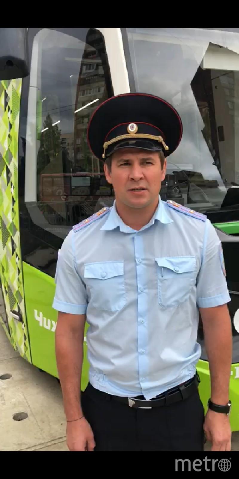 """О ДТП с велосипедистом на Наставников сообщили полицейские. Фото предоставлено ГИБДД, """"Metro"""""""