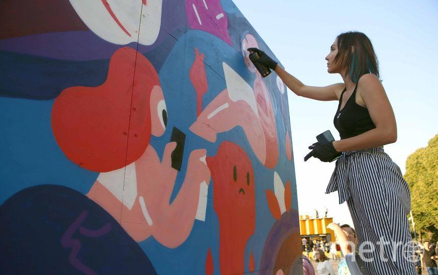 Лучшие мастера стрит-арта будут сражаться в конкурсе «Энергия улиц» на Пушкинской набережной 27 июня с 12:00 до 20:00. Фото mos.ru