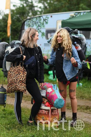 """Фестиваль  """"Гластонбери"""" (Glastonbury). 2019 год. Начало. Фото Getty"""