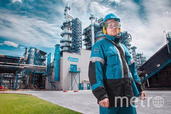 Омский НПЗ «Газпром нефти».