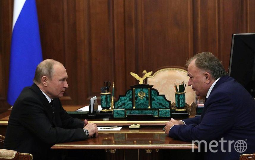 Владимир Путин и Махмуд-Али Калиматов. Фото kremlin.ru