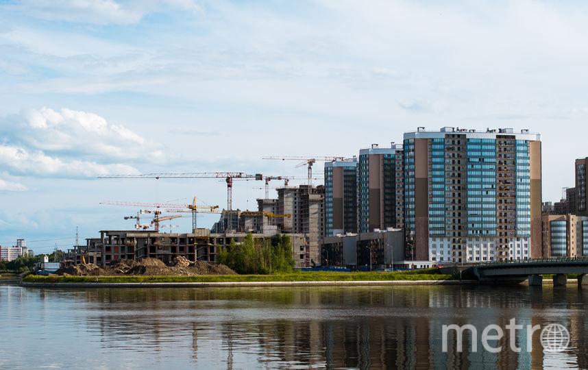 Новые кварталы Петербурга. Фото Depositphotos