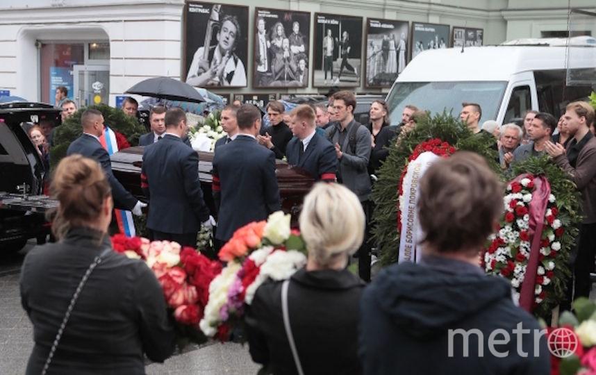 В Москве простились с Аллой Покровской. Фото РИА Новости