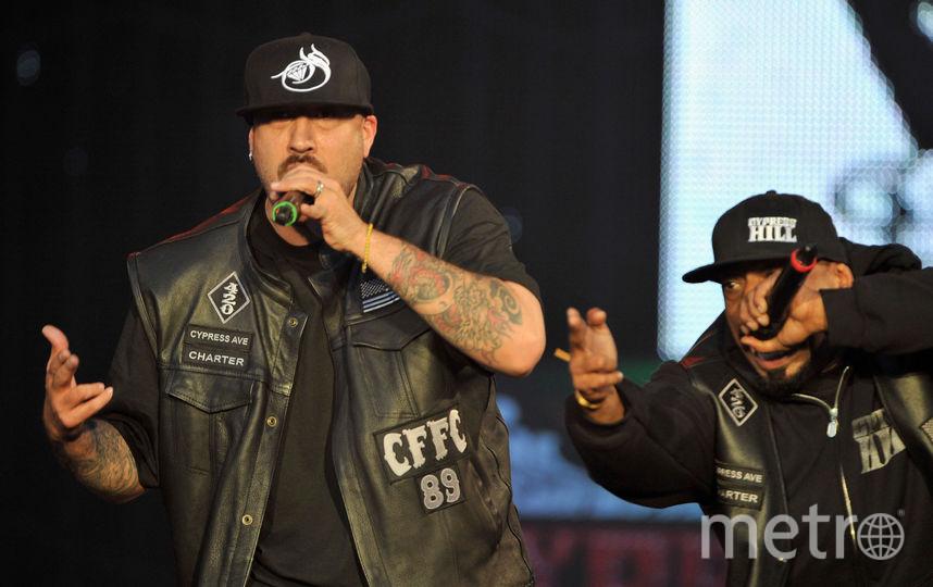 Концерт Cypress Hill состоится 3 июля. Фото Getty