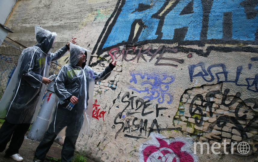 Дворы столицы стали холстами. Фото Василий Кузьмичёнок