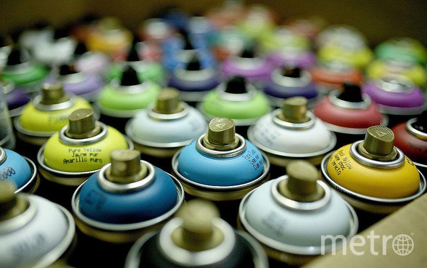 Баллончики с краской. Фото Getty