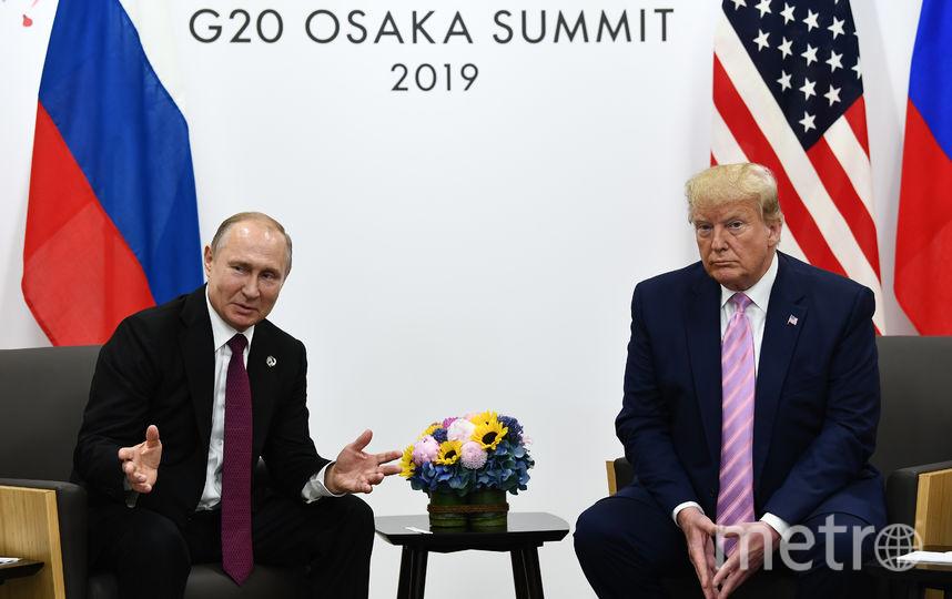 Владимир Путин и Дональд Трамп. Фото AFP