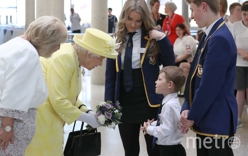 Королева посетила Норт-Ланаркшир 28 июня. Фото Getty