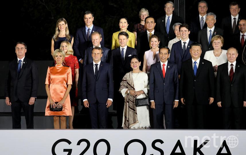 Владимир Путин на саммите G20 в Осаке. Фото AFP