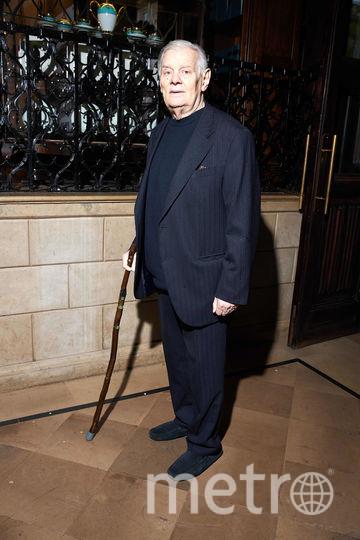 Владимир Андреев на церемонии награждения театральной премии имени Лобанова. Фото Предоставлено организаторами