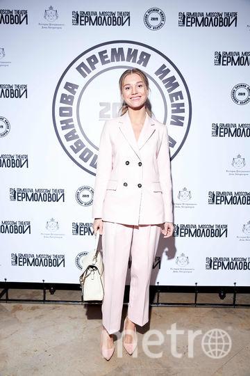 Кристина Асмус на церемонии награждения театральной премии имени Лобанова. Фото Предоставлено организаторами