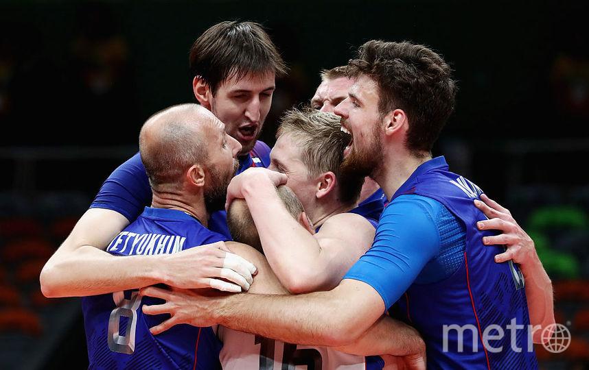 Мужская сборная России по волейболу вышла в финал шести Лиги наций. Фото Getty