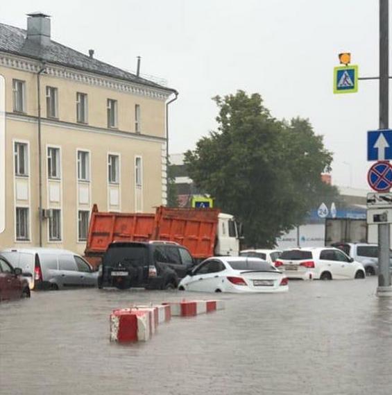 Потоп в Шереметьево. Фото скриншот: instagram.com/kolibri.ov/