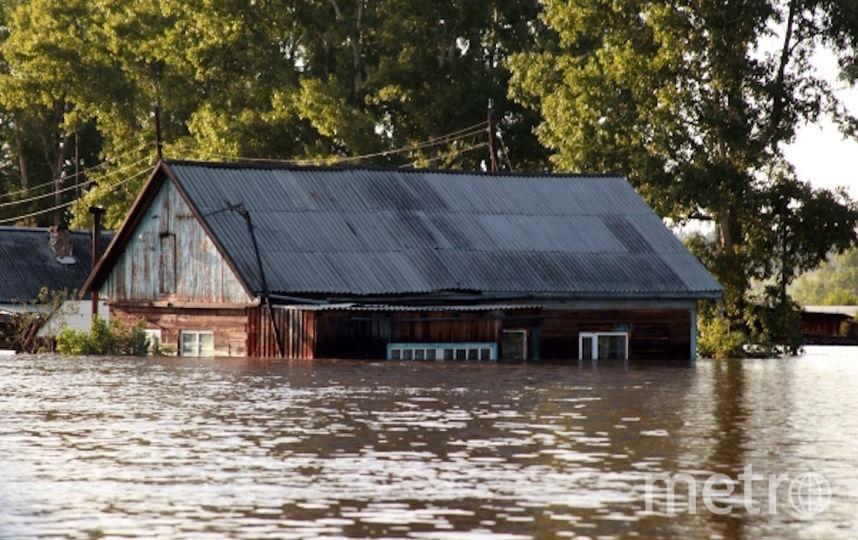 Последствия паводка в Тулуне. Фото РИА Новости