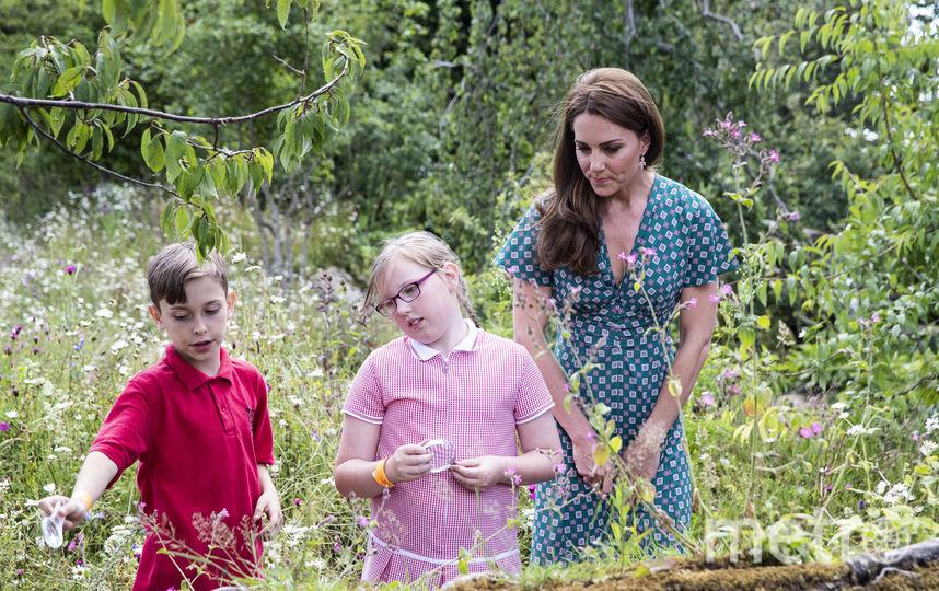 "Кейт Миддлтон в саду ""Назад к природе"". Фото Getty"