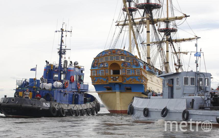 """Полтава"". Фото Яхт-клуба Санкт-Петербурга, ""Metro"""