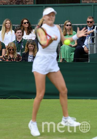 Кейт Миддлтон. Второй день теннисного турнира. Фото Getty