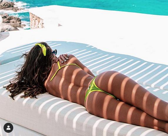 Изабель Гулар, фотоархив. Фото скриншот https://www.instagram.com/izabelgoulart/