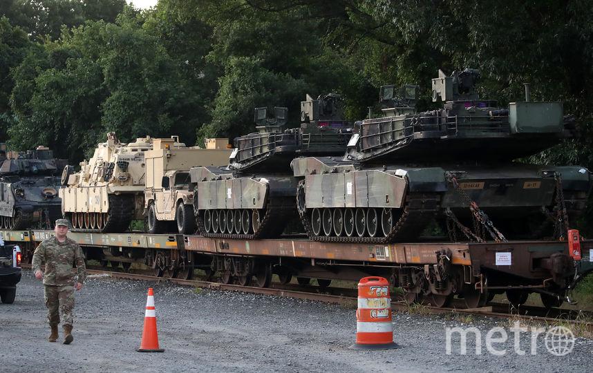 Танки впервые покажут в Вашингтоне в рамках празднования Дня независимости. Фото AFP