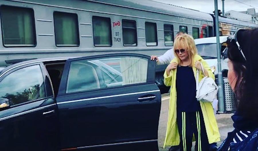 Не в добрый час попала Алла Борисовна в чей-то объектив. Фото  instagram/alla_pugacheva_forum