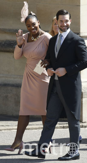 Серена Уияльмс на свадьбе принца Гарри и Меган Маркл. Фото Getty