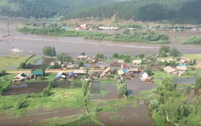Паводок в Иркутской области. Фото  youtube.com/watch?v=0QrnWZwdyzg