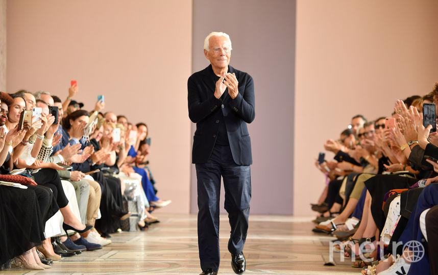 Модельер Джорджо Армани. Фото Getty