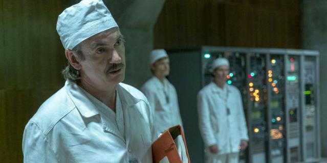 """Кадр из фильма """"Чернобыль""""."""