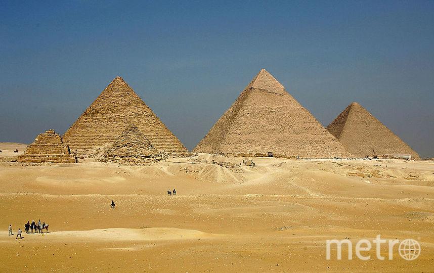 Египетские пирамиды. Фото Getty