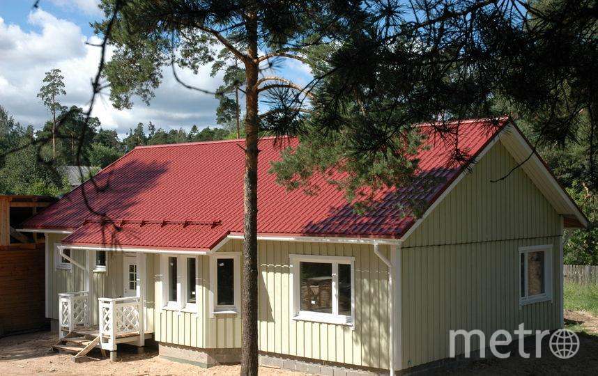 """Финский каркасный дом с Изоплат. Фото """"Metro"""""""