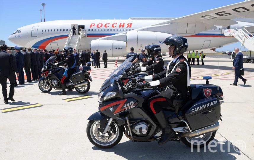 Владимир Путин прибыл в Ватикан. Фото AFP